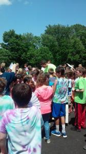 jimmer visiting school