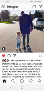 Jimmer and Wesley out for a walk