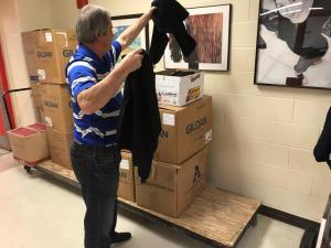 2018 warm hoodie giveaway to area schools