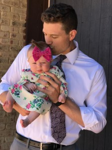 jimmer's first father's day pix